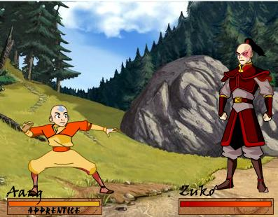 flash-fighting-game-avatar-the-last-air-bender-bending-battle