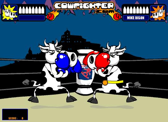 free-game-flash-fighting-game-cow-fighter