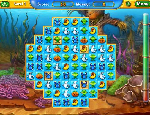 flash-puzzle-game-fishdom-spooky-splash