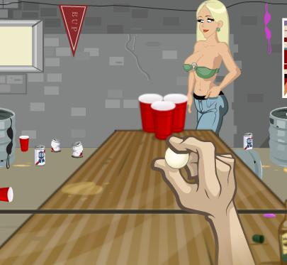 free-game-flash-aiming-game-beer-pong