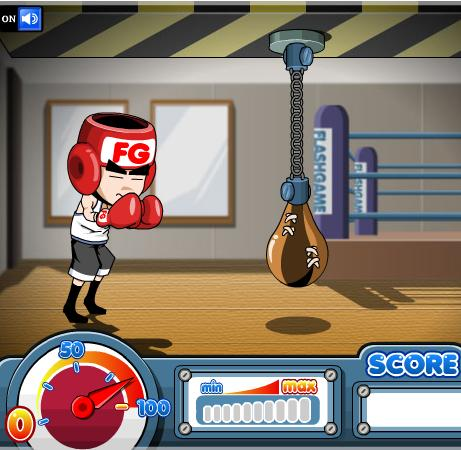 flash-boxing-game-the-fighter-training