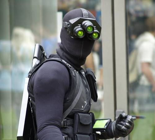 Sam Fisher Splinter Cell Fan Costume Hd Wallpaper Wallpaper